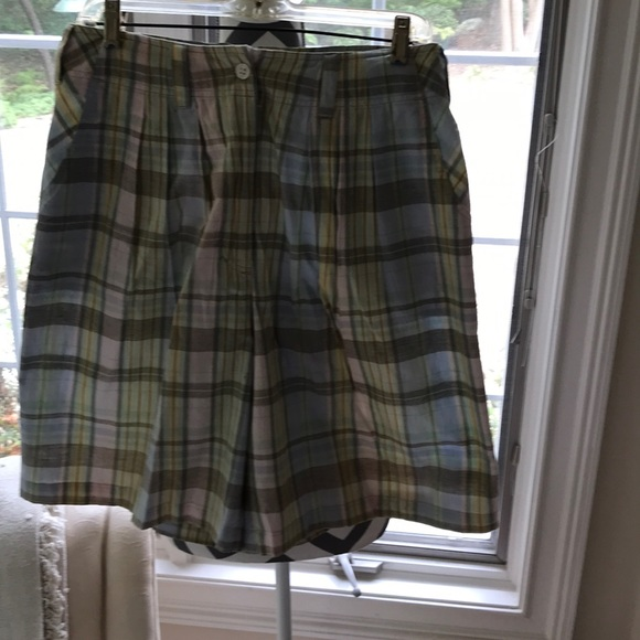 RTW Pants - Pretty plaid 100% cotton  light weight and cool.